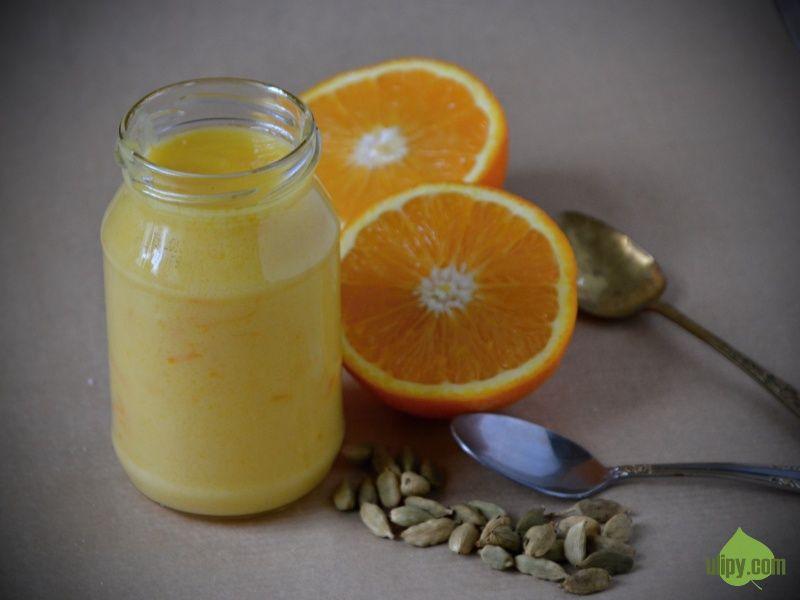 Orange curd s kardamonem