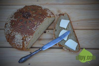 Kváskový chléb se záparou