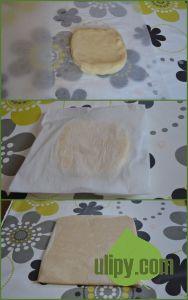 Formování máslového bochánku