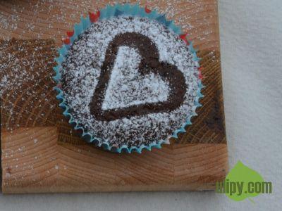 Kakaový muffin
