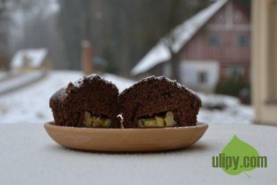Náplň v muffinu vždy mile překvapí :-)