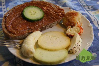 Veganský tatarák - fazolová pomazánka