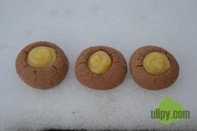 Cukroví s lemon curd